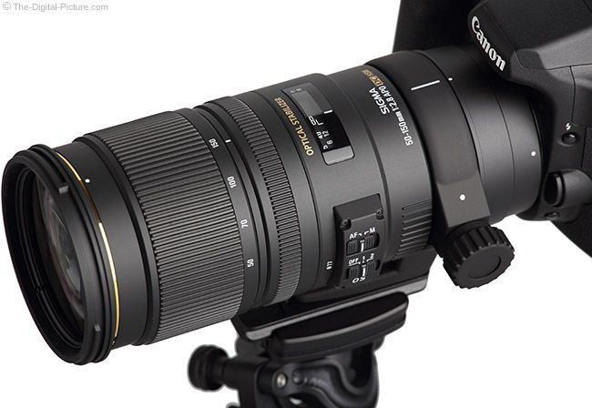 Sigma 50-150mm f/2.8 EX DC OS HSM Lens.  For more images and information on camera gear please visit us at www.The-Digital-Picture.com