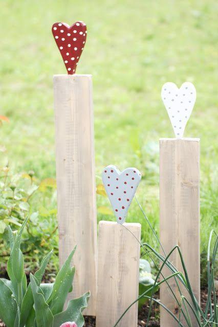 Pomponetti: RUMS mit Gartendeko - DIY