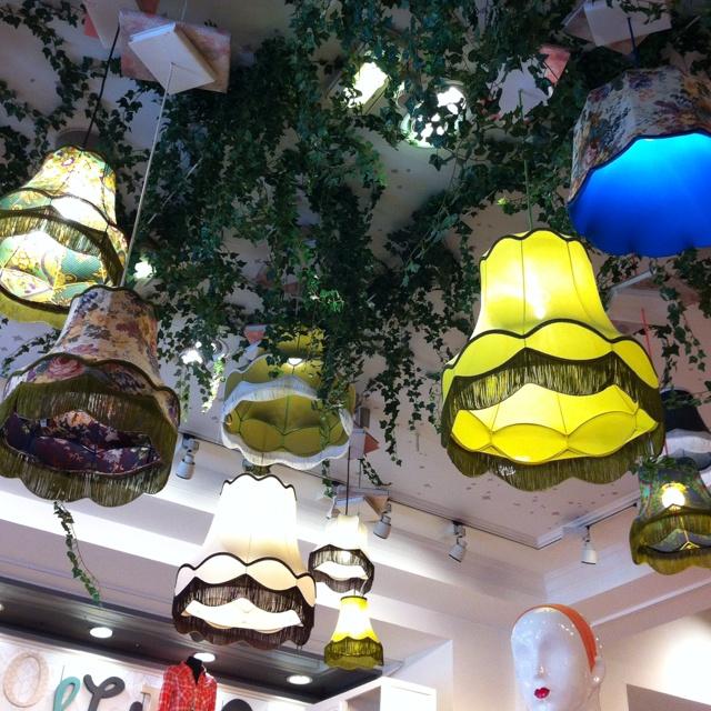 Décoration Naf Naf shop des Champs Elysées