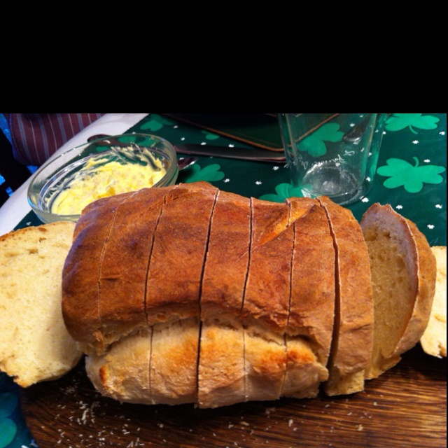 Rustic Sourdough made by Jody. King Author Flour recipe. Great pic taken by Paul.