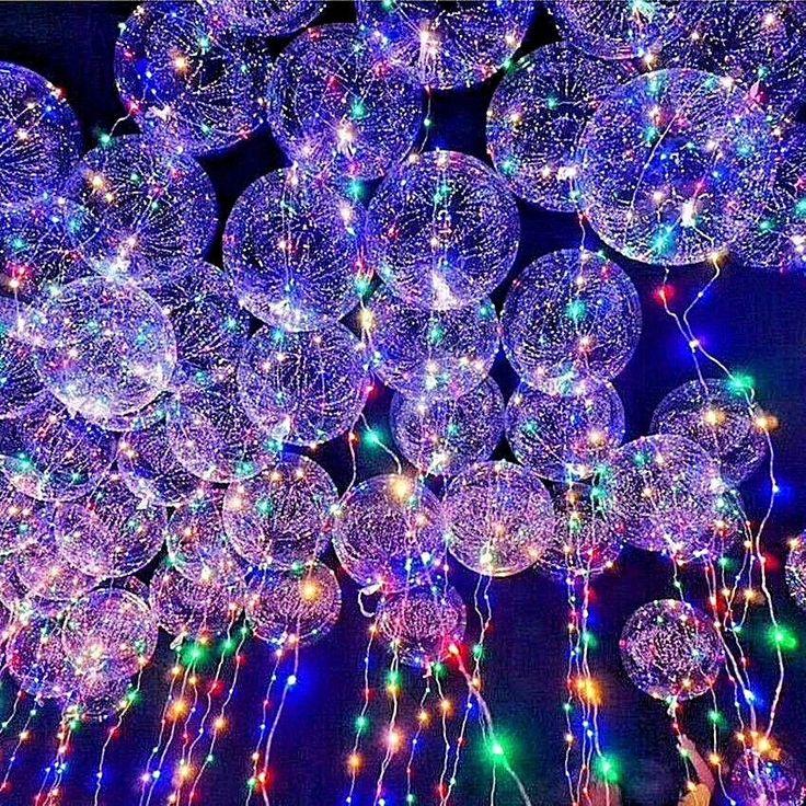 Led Light Up Balloons Party Balloon Graduation Birthday Wedding Event Decoration #ebay #Home & Garden