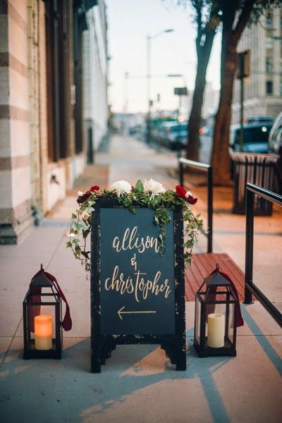 beyond the aisle: inspiration: restaurant wedding receptions