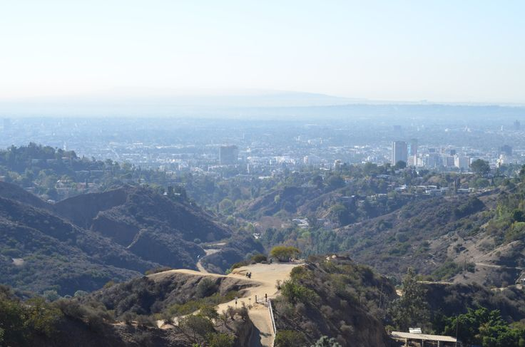 Hollywood Hills - Framed Poster from Print Canvas