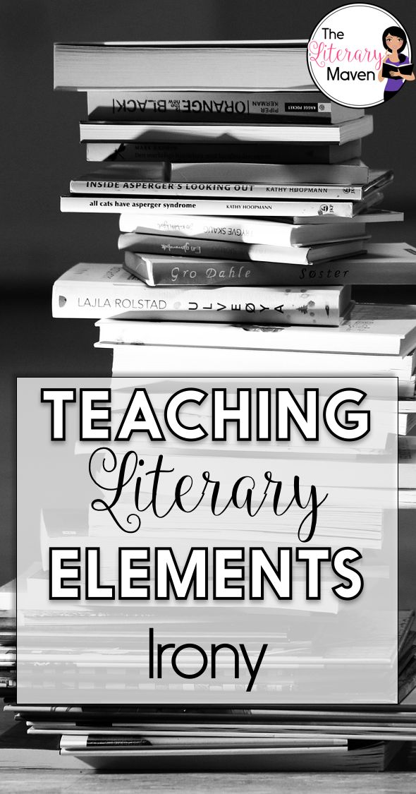 Irony is one of my favorite literary elements to teach. Who doesn't love a good plot twist? I love challenging students to find their own examples of irony from songs, films, and books. Whether you are teaching the types of irony as new concepts for your students, diving in deeper, or just reviewing the basics, read on to find activities and resources that will benefit all levels of students.
