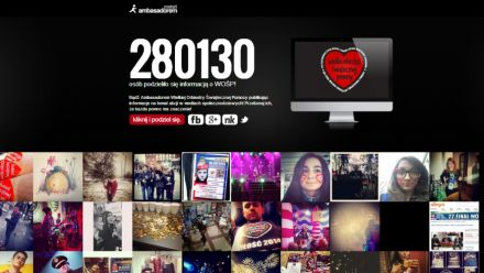 22. Finał WOŚP - podsumowanie gry online i mobilnej