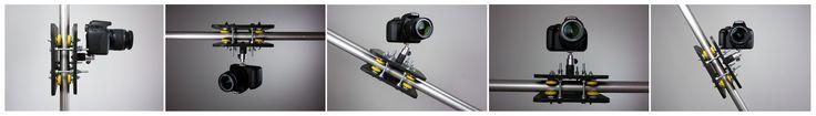 Camera slider - multiple camera angles