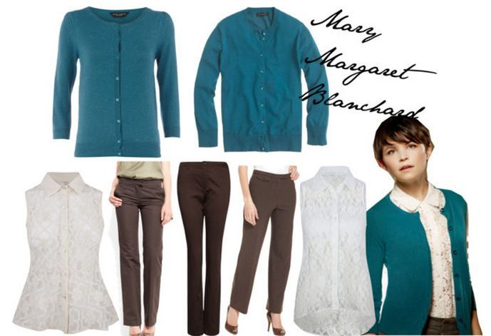 Mary Margaret OUAT outfits