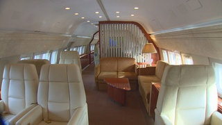 Interior on Boeing Business Jets