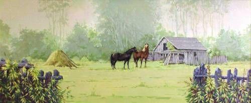 Картины (живопись) : Утро на опушке леса