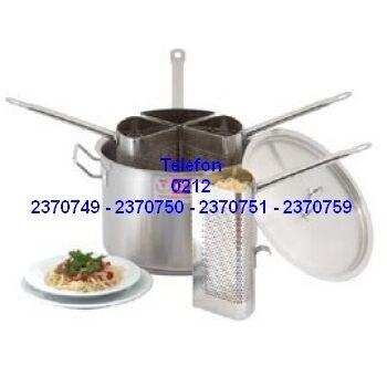 Yemek Pişirme Tencereleri : Makarna Haşlama Tenceresi Satış Telefonu 0212 2370749