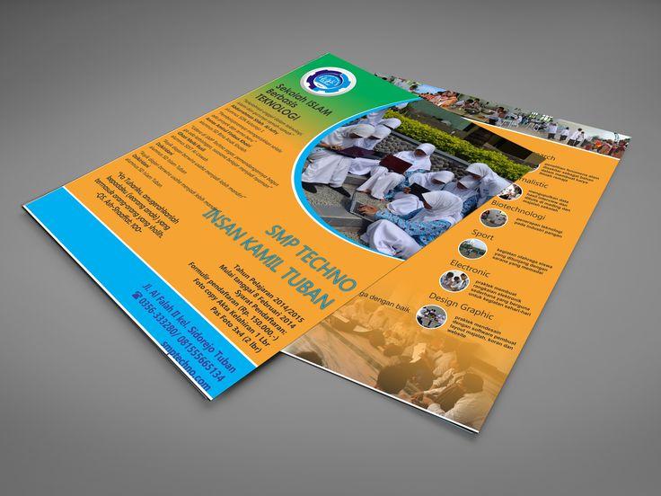 junior high school brochure