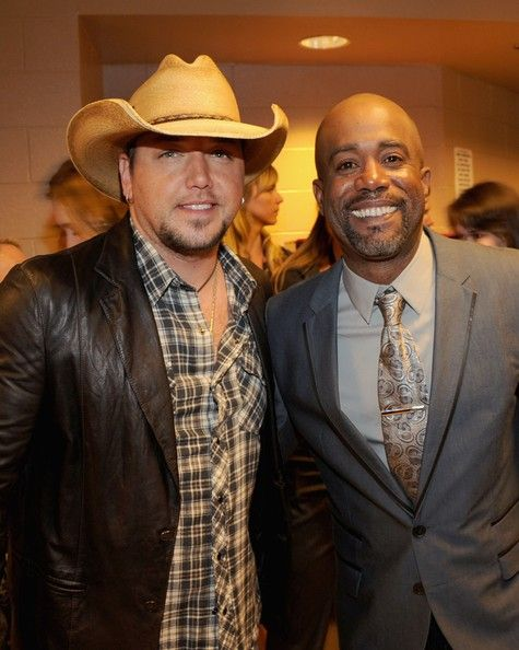 Jason Aldean & Darius Rucker - 47th Annual Academy Of Country Music Awards -  Backstage & Audience