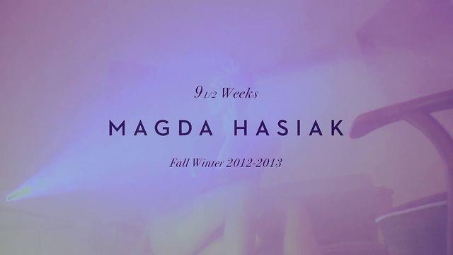 Magda Hasiak Fall-Winter 2012-2013 teaser by Bien. www.magdahasiak.com