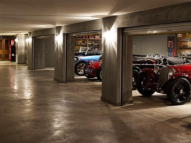 I love the underground garage.