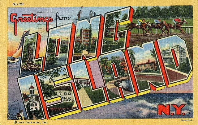 Long Island, New York - Large Letter Postcard by Shook Photos, via Flickr