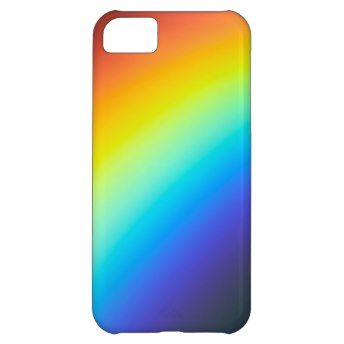 Rainbow Colors iPhone 5C Case on buy-the-new.com