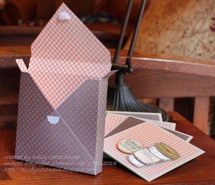FUN FOLDS Envelope Punch 4x4 Box with Kelly Gettelfinger