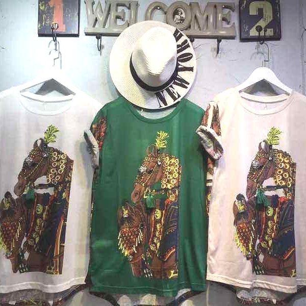 Baju Putih Hijau Kuda Coklat harga Rp 175000 #sepatuwanitaheels #sepatuwanitaberkualitas #sepatugayakeren #sepatukerjamodis #sepatumurahimport2 #sepatuberkualitasbagus