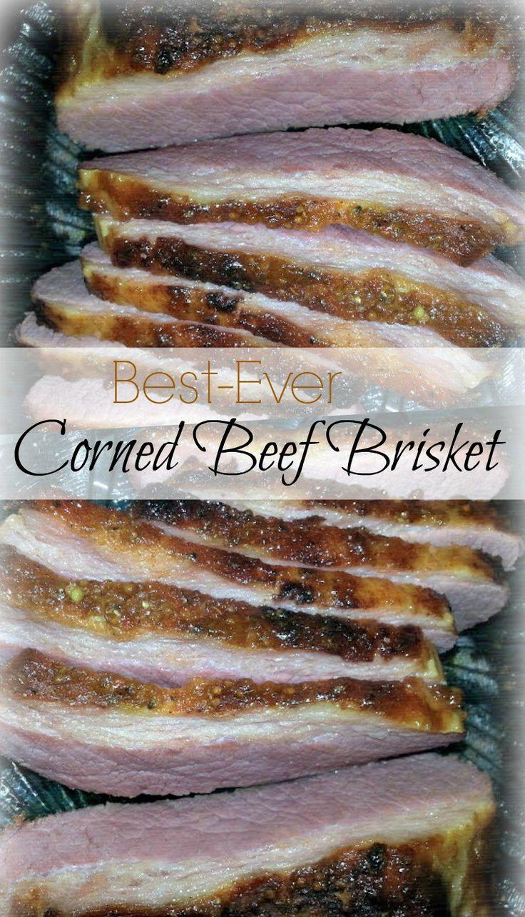Best Ever Corned Beef Brisket