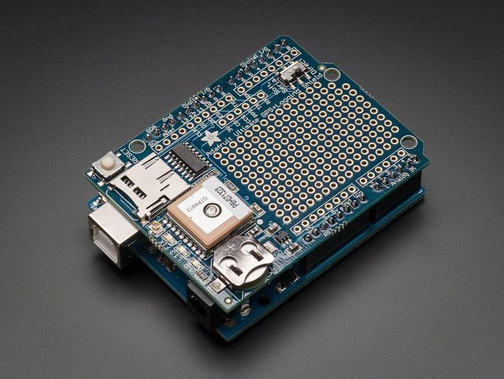Arduino GPS Logger combo (ALL IN ONE) GPS Shield, UNO, SD Card, Clear Case & USB #Arduino