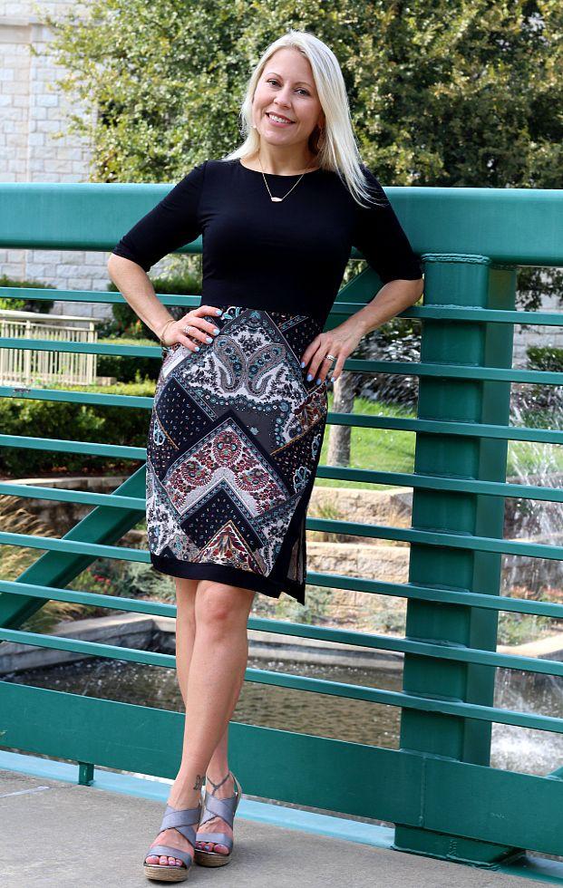 - Annetta Knit Dress by Le Lis | Stitchfix Review ---- live this dress for winter! https://www.stitchfix.com/referral/5641567