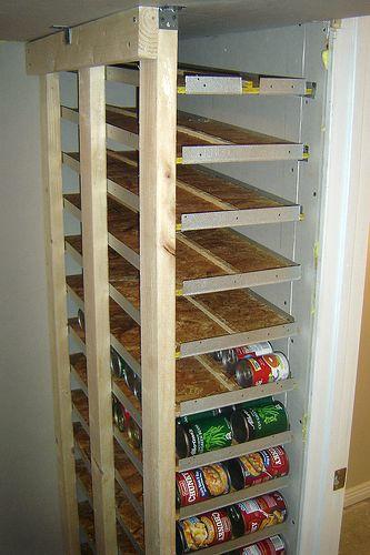 DIY Food Storage, genius!