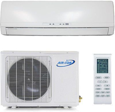 22 SEER - 9000 BTU ENERGY STAR Ductless Mini Split Air Conditioner Heat Pump