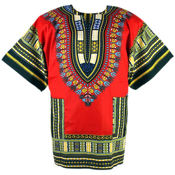 African Dashiki Mexican Poncho Hippie Tribal Ethic Boho Shirt Red... ($14,950) ❤ liked on Polyvore featuring outerwear, hippie poncho, red poncho and tribal poncho