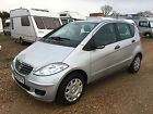 2008 MERCEDES A150 CLASSIC SE SILVER SALVAGE DAMAGED REPAIR