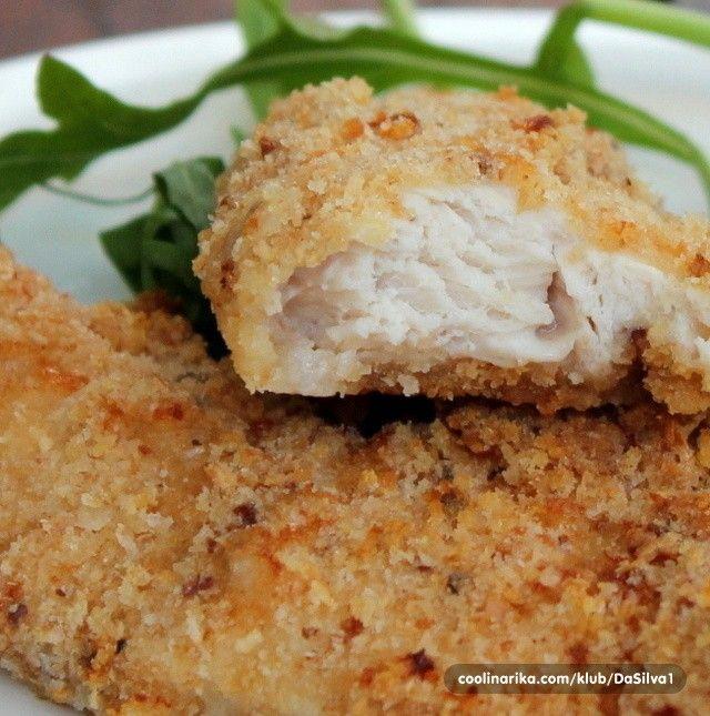 Jemné a šťavnaté masíčko - zapékaná kuřecí prsa Bez smažení připravené zapékané…