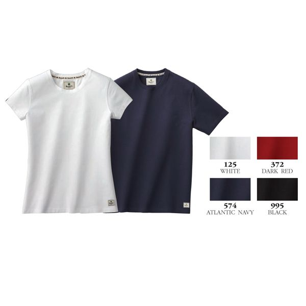 Youth Evergreen youth size short sleeve tee is made from 100% organic cotton jersey knit. 190 g/m2 (5.6 oz/yd2). 95% cotton / 5% spandex 2 x 2 rib knit collar.