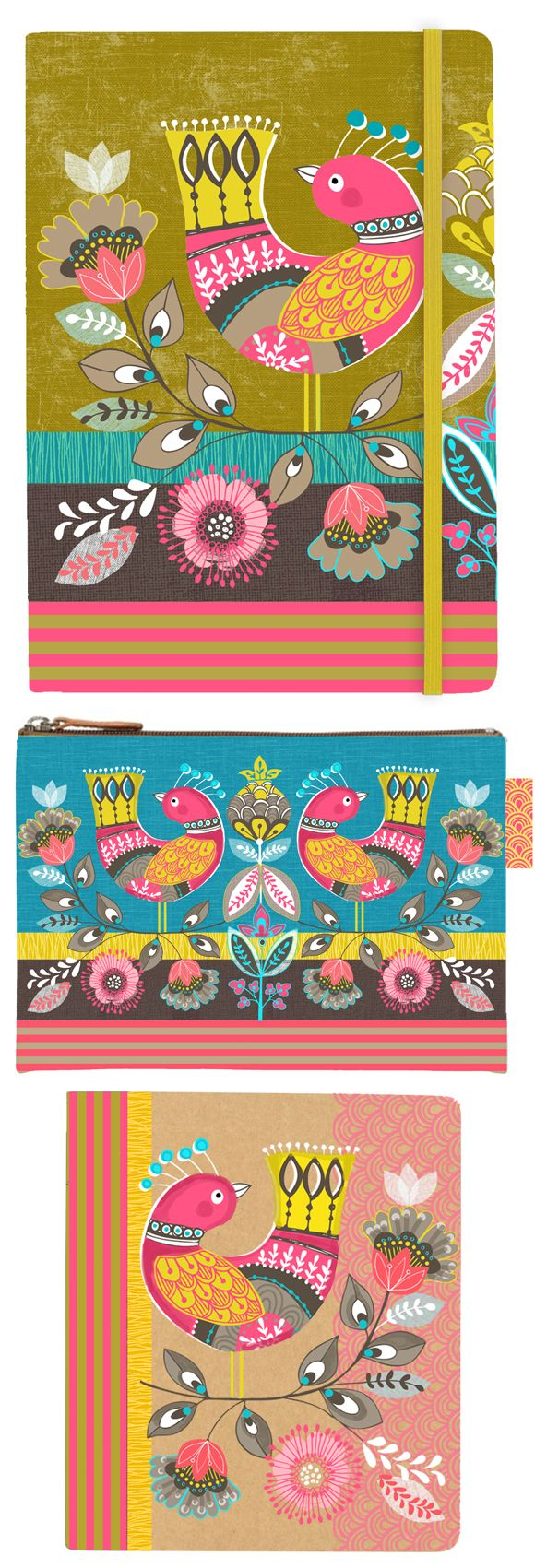wendy kendall designs – freelance surface pattern designer » paradise birds