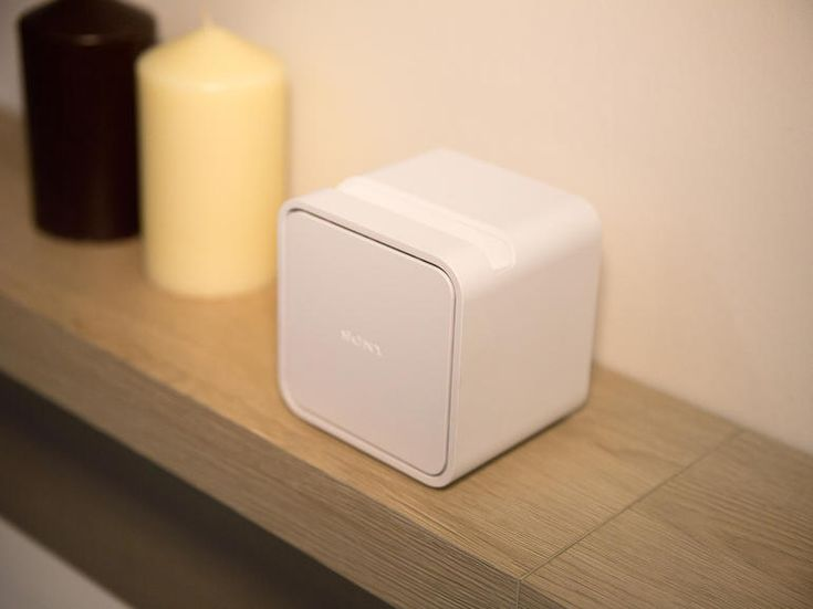 Sony's Portable Short Throw Projector turns a wall, table or fridge door into a touchscreen TV.