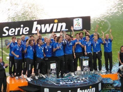 L'Atalanta vinse il torneo di Serie B 2010/2011