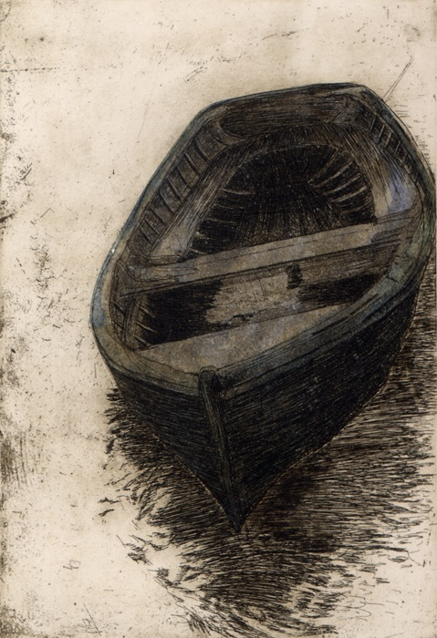 Jay Meara  The Boat, Intaglio, 5