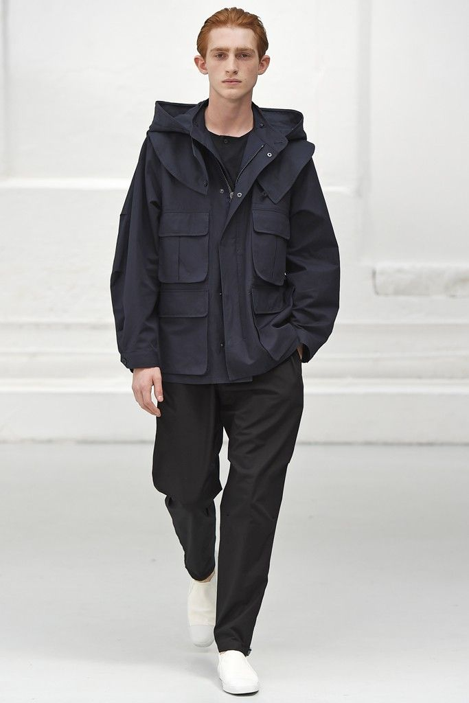 Christophe Lemaire 2015 Men's RTW Spring Collection