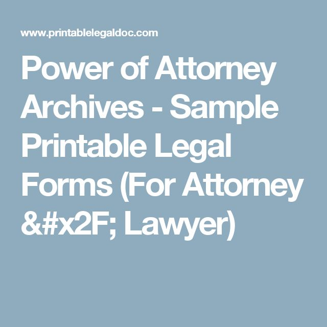 The 25+ best Power of attorney form ideas on Pinterest Power of - sample blank power of attorney form