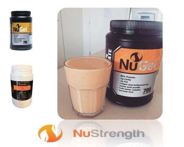 Protein Powder Brisbane - NuGel 700g - NuStrength by nustrength.deviantart.com on @DeviantArt