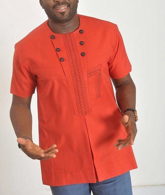 Vêtements pour hommes africains chemise africaine par VIPwears