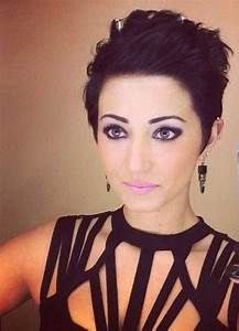 25+ Best Ideas about Brown Pixie Cut on Pinterest   Brown pixie hair, Pixie definition and Pixie lot