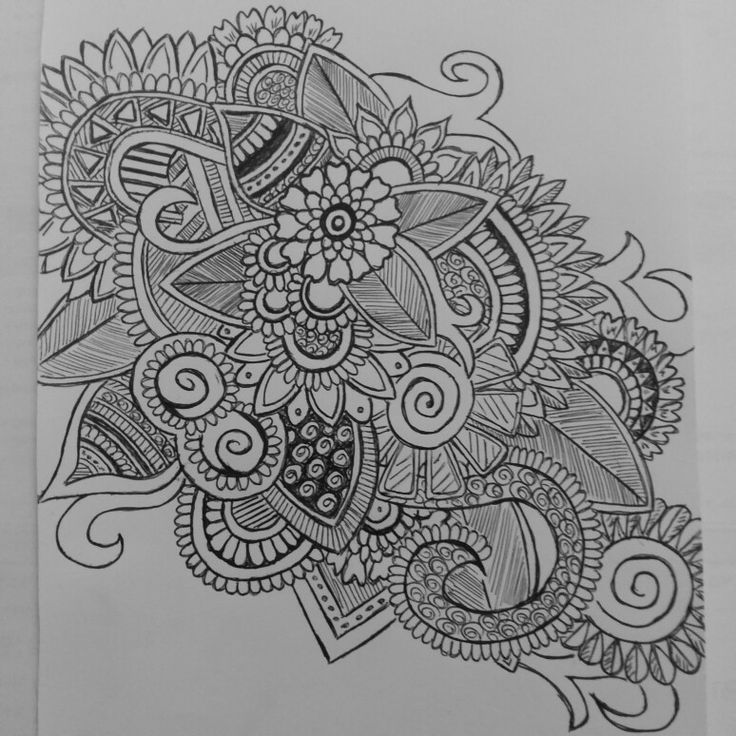 Pensil drawing Line art
