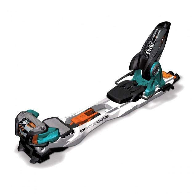 Marker Duke 16 S/110 Ski Bindings - Black/Blue/Orange