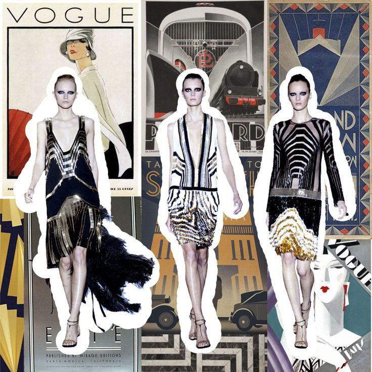 M s de 1000 ideas sobre moda estilo a os 20 en pinterest - Art deco caracteristicas ...