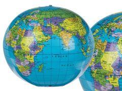Nadmuchiwana piłka - Globus
