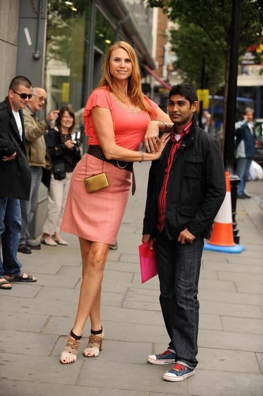 The tallest model of the world Erika Ervin