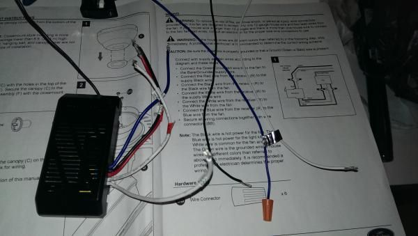 Wiring Diagram On Harbor Breeze Ceiling Fans Switch Wiring Diagram