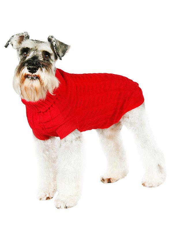 RED WAFFLE TEXTURED KNITTED JUMPER