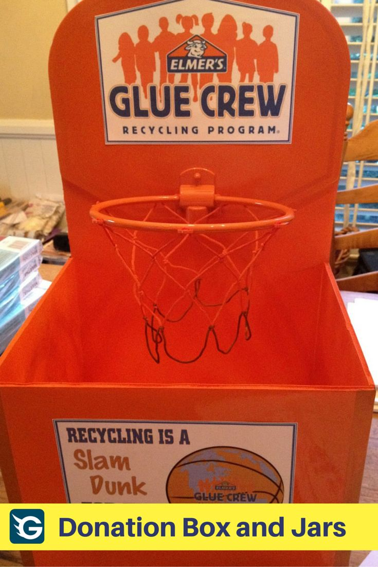 Professional flatpack assembly service professional crew of joiners - Basketball Style Recycling Bin Elmer S Glue Crew Be Creative Support Education Recycle Too