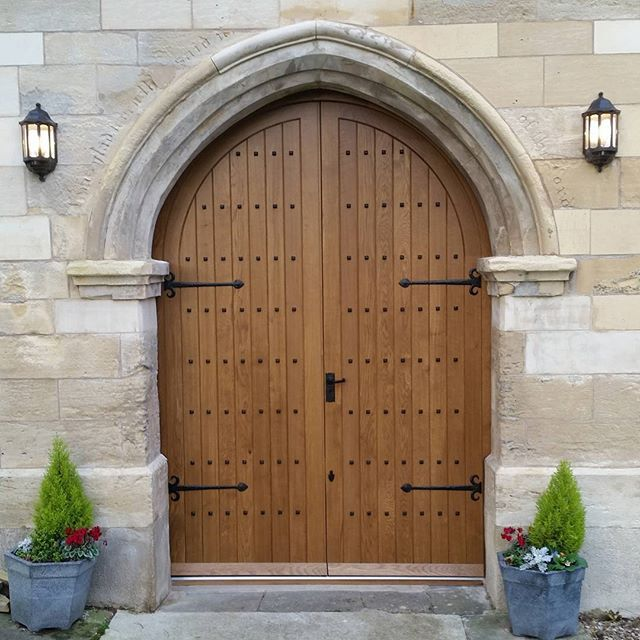Church Doors made and installed by Merrin Joinery #listedbuilding & 33 best Joinery for listed buildings images on Pinterest | Bespoke ...