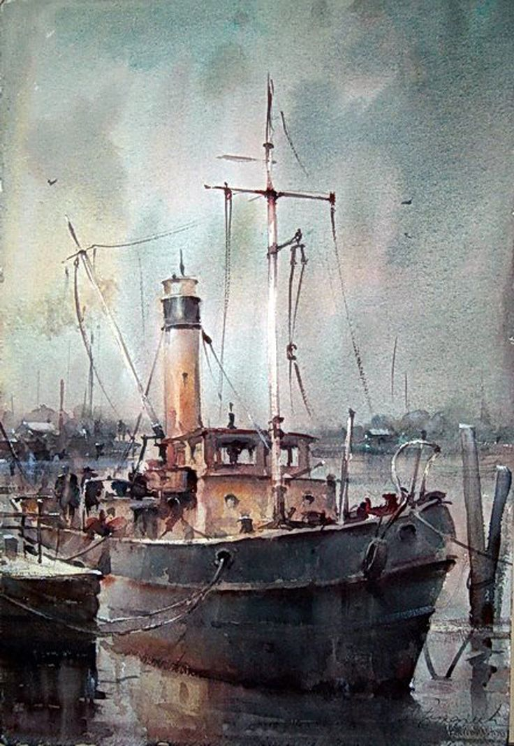 Dusan Djukaric watercolour